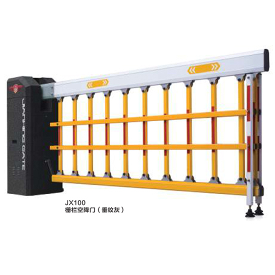 JX100 栅栏空降门(垂纹灰)